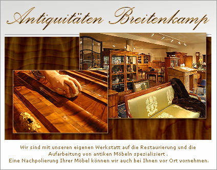 breitenkamp antiquit ten m bel einrichtungen shopping berlin. Black Bedroom Furniture Sets. Home Design Ideas