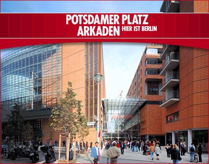 Potsdamer Platz Shopping Arkaden Shopping Center Papeterien