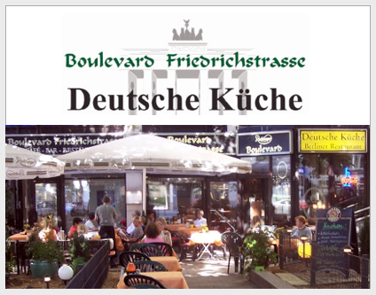 Boulevard Friedrichstrasse Coffee House / Bar / Restaurant All Dining |  Drinking Berlin Www.berlin Mitte.com